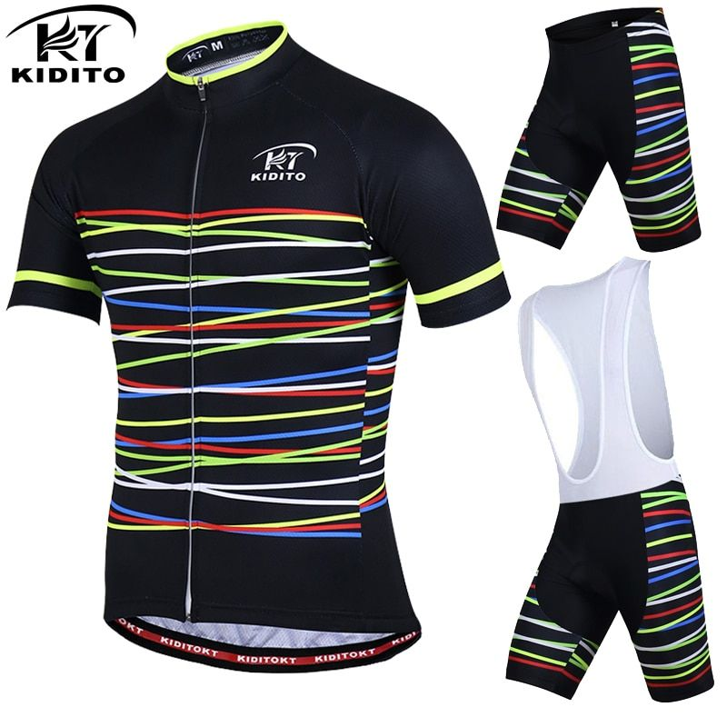 KIDITOKT Brand Leilani Pro Bicycle Wear MTB Cycling Clothing cycling sets Bike uniform Cycle shirt Summer cycling jersey set