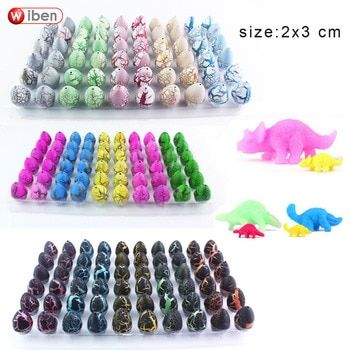 Wiben Novelty Gag Toys Children Toys Cute Magic Hatching Growing Dinosaur Eggs For Kids Educational Toys Gifts