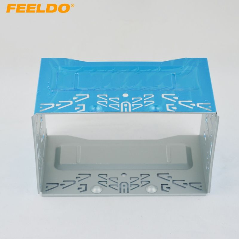 Car Stereo Audio Refitting Facial Frame Panel For ISO 2DIN installation Metal Cage  #FD-3588