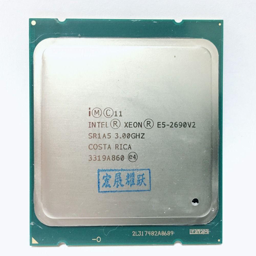 Intel Xeon Prozessor E5 2690 V2 CPU 3,0g LGA2011 Zehn Kerne Server prozessor e5-2690 V2 E5-2690V2 formale edition