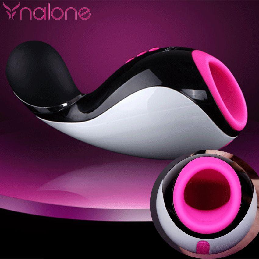 Nalone 7 Geschwindigkeit Bluetooth Männlichen Masturbatorschale Oral Saugen Taschenlampe Mädchen Realistische Vagina Künstliche Pussy Geschlechtsprodukt für Mann