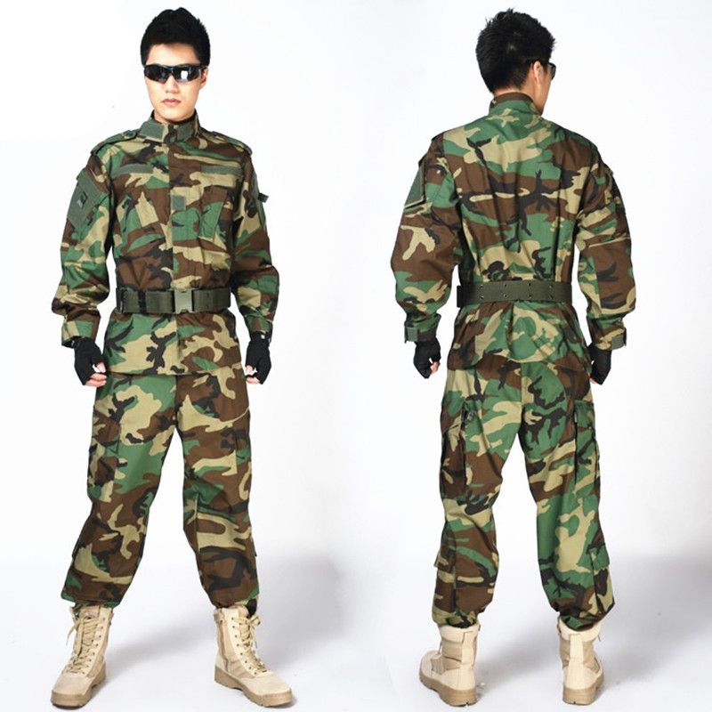 MULTICAM Uniform ACU Camouflage Clothing Suits For Hunting Paintball Military Army Training Jacket + Pants