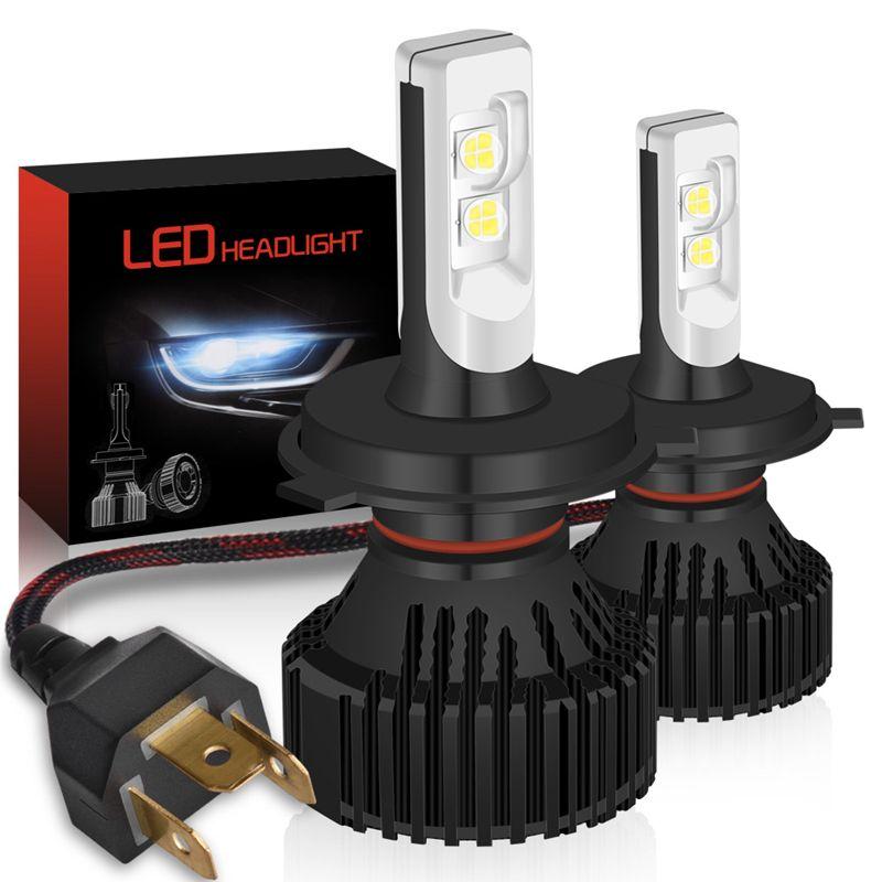 1 pair H4 H13 9004 9007 Hi/Lo Beam H7 9005/HB3 9006/HB4 H10 H11 9012 H16 P13W PSX24W PSX26W P13W 5202 Led Headlight Kits