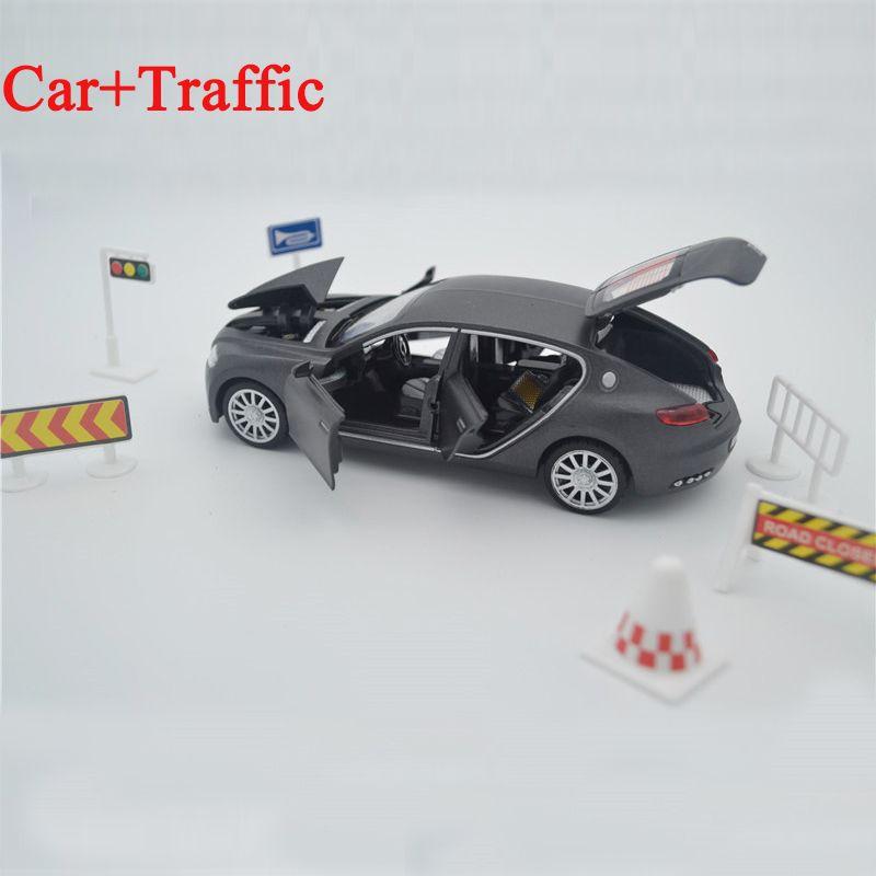 Offre spéciale Collection Alliage Moulé Sous Pression jouet modèle de voitures 1/32 Mode Veyron 16C Galibier w/light & sound Pull Back oyuncak jouet pour enfant