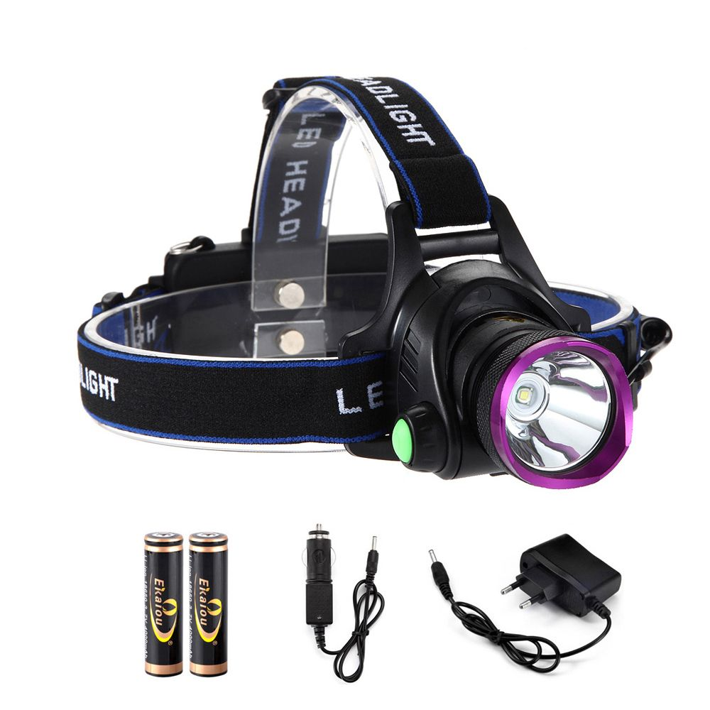 Étanche LED Projecteurs rechargeablea XML T6 12 W 6000 lumens LED phare LED projecteur 18650 lampe-Torche Chef Lampe
