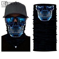BJMOTO 2017 Motorcycle Face Shield Sun Mask Balaclava Anti-UV Breathable Magic Head Face Mask