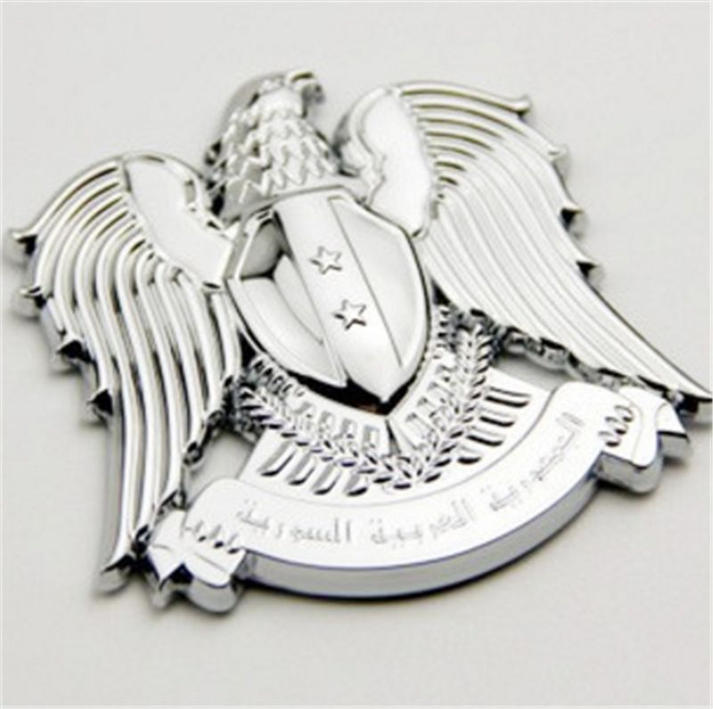 Coat of arms of Russia  Eagle Emblem Car Styling 3D Stickers Auto Decal Accessories Personalized Stickers Metal Badge car