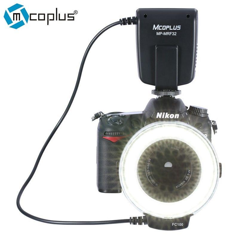 Mcoplus MP-MRF32 Bague Macro Flash pour Appareil Photo Nikon D3100 D7100 D7000 D5500 D5200 D5100 D5300 D3200 D3300 D3400 comme FC-100