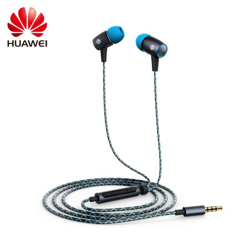 Original Huawei AM12plus écouteur avec microphone stéréo hifi son stéréo pour voix femelle sopranos son pour Xiaomi Meizu