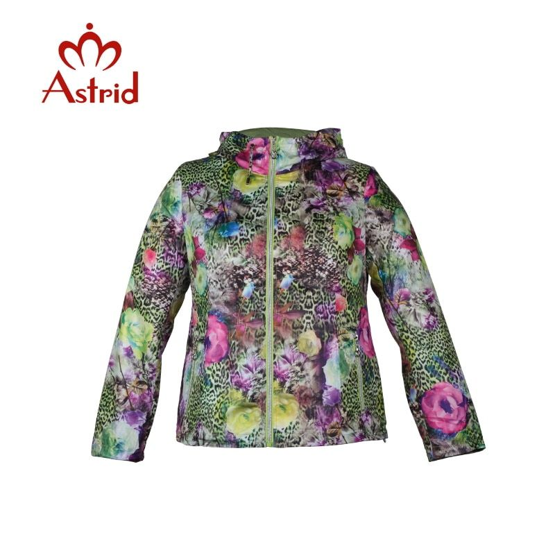 Astrid hot sale Womens Large Size hooded Coat Ukraine Style Slim Overcoat Female Spring Autumn Outerwear Trench Coat For AS-5009