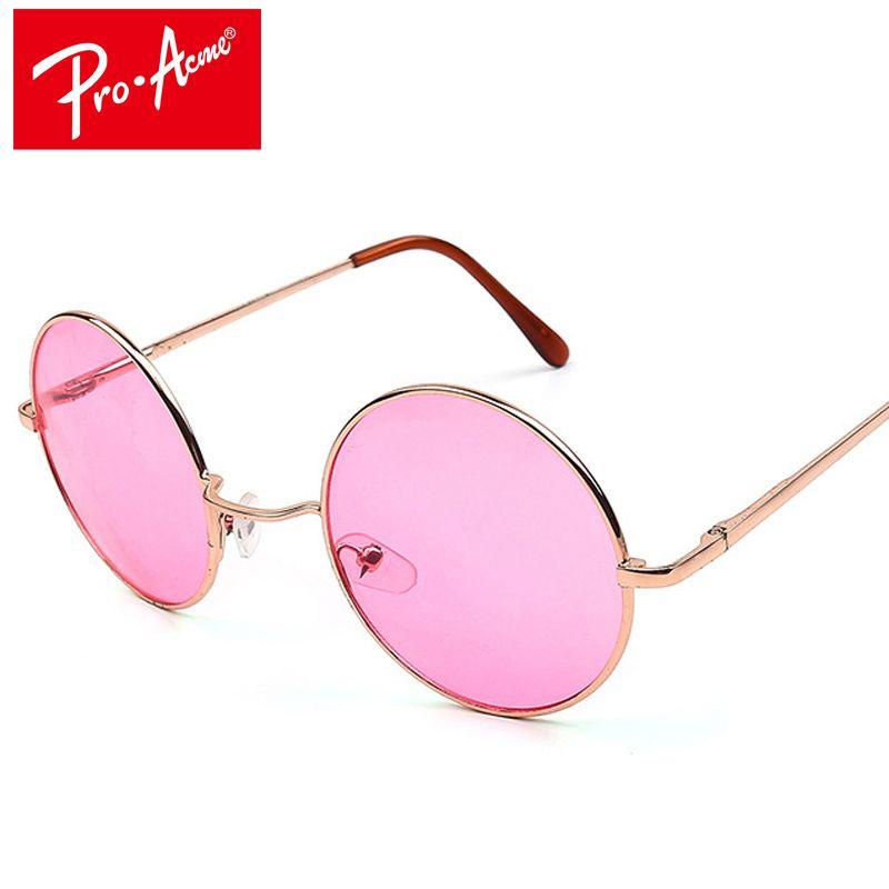 Pro Acme Retro Runde Sonnenbrille Frauen Marke Designer Hippie 60 S Lennon Vintage Sonnenbrille Oculos De Sol Gafas lunette CC0253