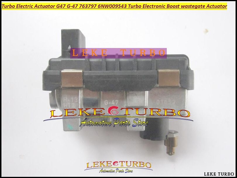 Turbo ELECTRONIC BOOST ACTUATOR G-047 G47 G047 G-47 763797 6NW009543 6NW-009-543 6NW 009 543 Turbocharger Electric wastegate