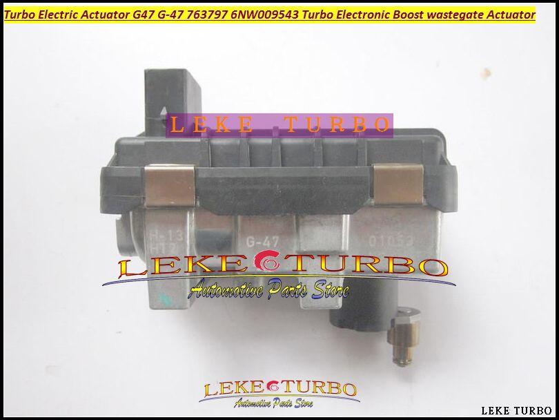 Turbo ELEKTRONISCHE ERHÖHUNG ANTRIEB G-047 G47 G047 G-47 763797 6NW009543 6NW-009-543 6NW 009 543 Turbolader Elektrische wastegate