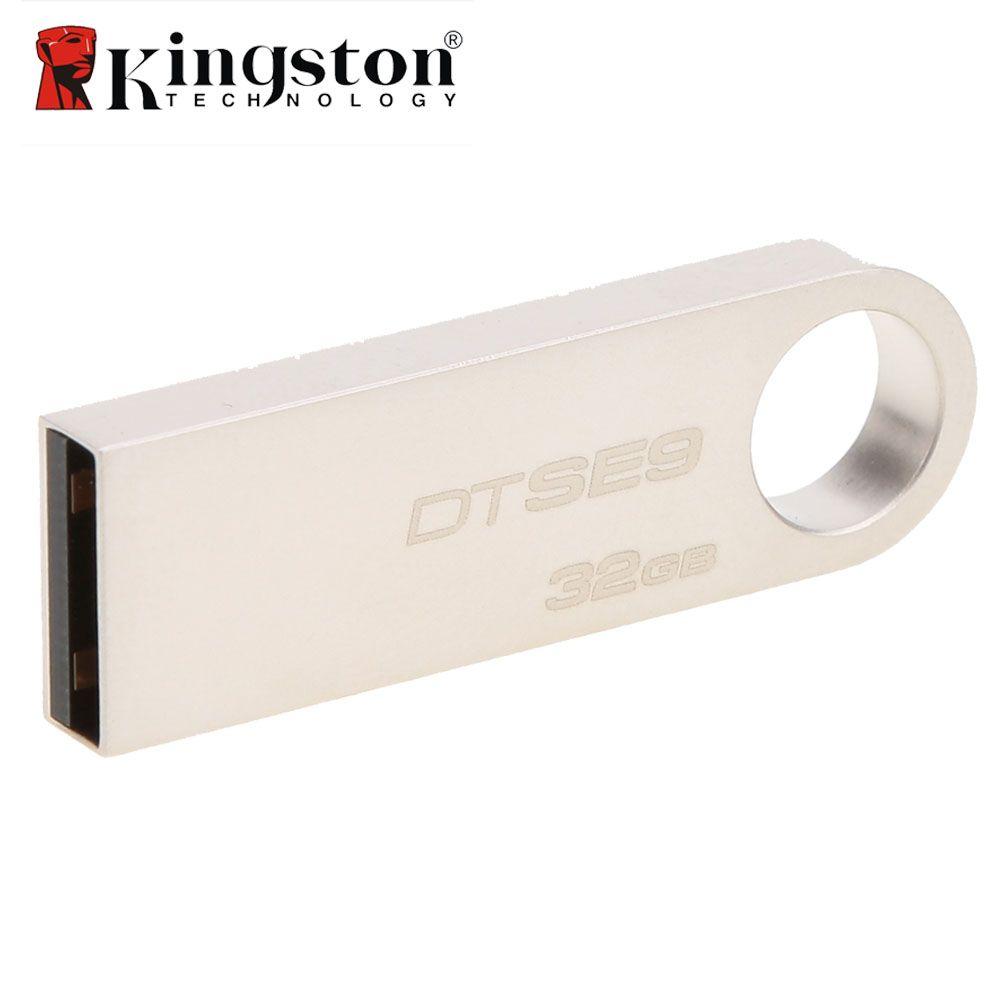 Kingston DTSE9 USB Flash Drive Métal Mini Clé USB Bâton 8 gb 16 gb 32 gb Mémoire Bâton De Stockage USB clé usb Flash Pen Drive Mémoire