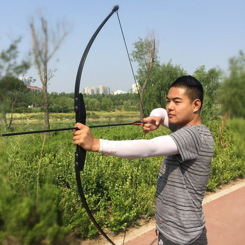 Professional 30/40lbs Recurve Bow for Right Hand Wooden Archery Bow Outdoor Shooting Hunting Bow Practice Sports G01 Dart