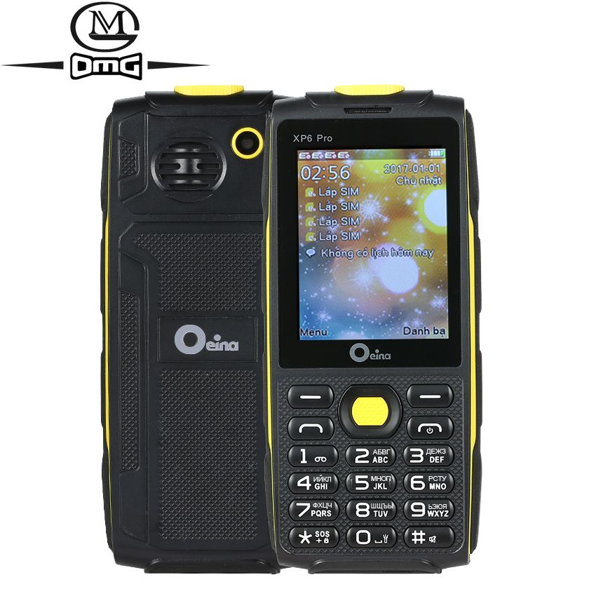 Oeina XP6 Pro Russian keyboard mobile phone 2.4