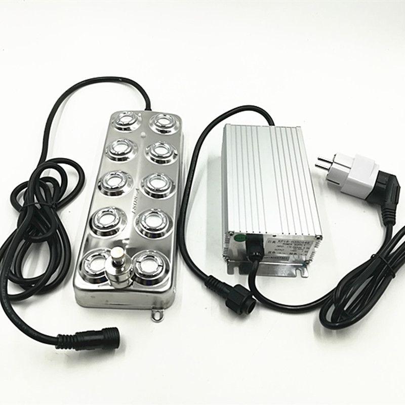 DC48V 10 Kopf 5 kg/std Industrielle Ultraschall Nebel Maker Fogger Ultraschall Zerstäuber Mit Feuchtigkeit-beweis Netzteil Nebel Luftbefeuchter