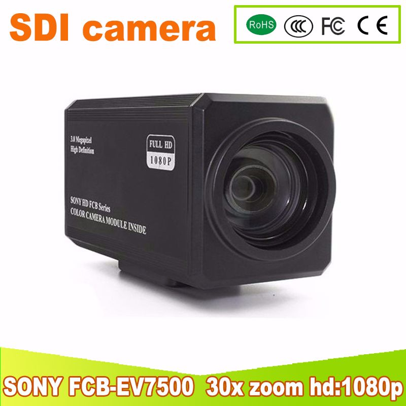 Yunsye Freies verschiffen SONY SDI FCB-EV7500 HD Farbe Block Kamera Video Conferencing Kamera 30x zoom hf 1080 p 2mp