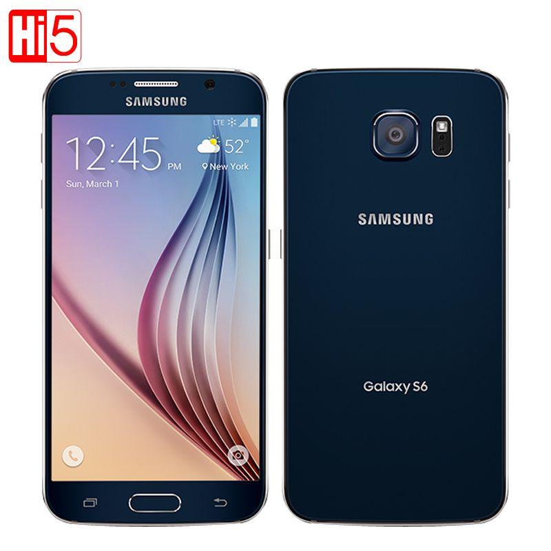 Unlock Samsung Galaxy S6 G920F mobile phone Octa Core 3GB RAM 32GB ROM LTE WCDMA <font><b>16MP</b></font> 5.1 inch Wi-fi android smarphone