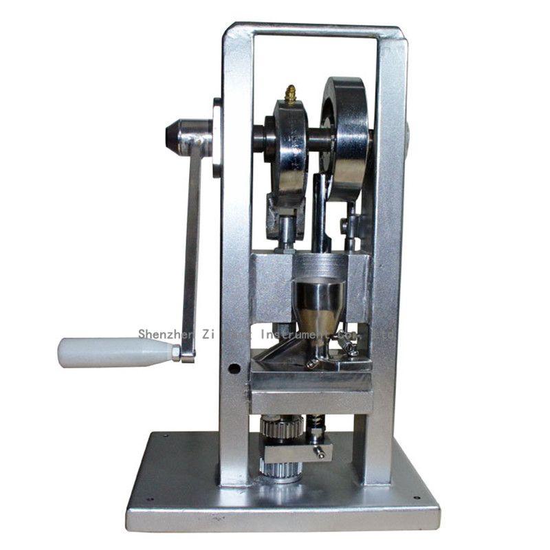 Manuelle Einzigen schlag tablettenpresse/pille pressmaschine/pille, die/(leichteste typ) TDP-0/hand betrieben/mini typ 20 KG