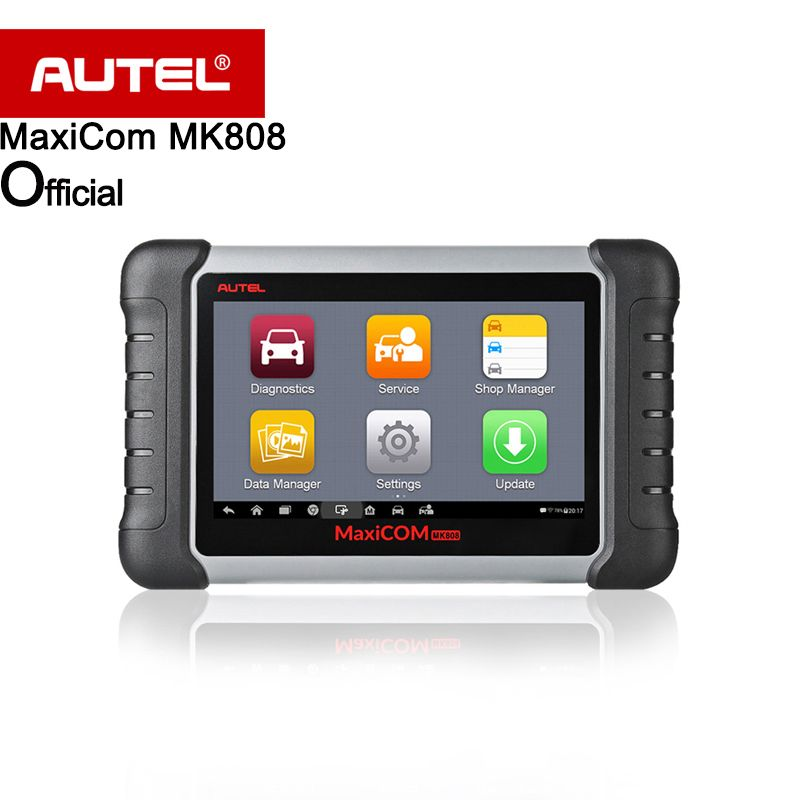 Autel MaxiCOM MK808 Automotive Diagnostic Scanner with IMMO/EPB/SAS/BMS/TPMS/DPF Service Code Reader for key programming