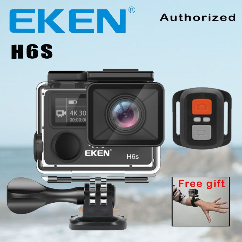 Action Camera Deportiva EKEN H6S Ultra HD 4K WiFi EIS Electronic Image Stabilization Go Waterproof 1080P Pro Sport DV Camera