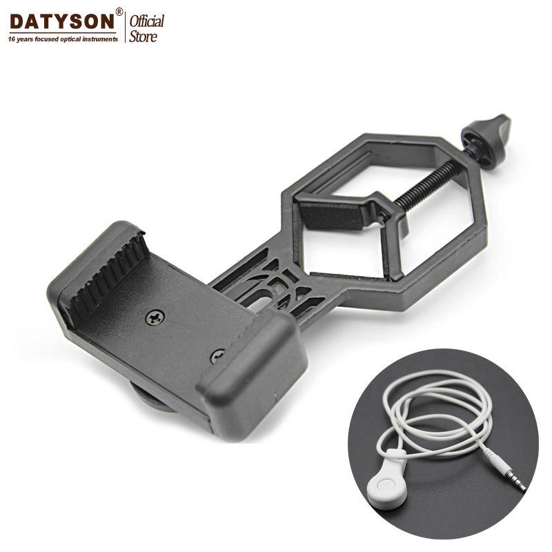 Универсальный металла сотовый телефон адаптер совместим с бинокль Монокуляр Зрительная труба телескоп и микроскоп
