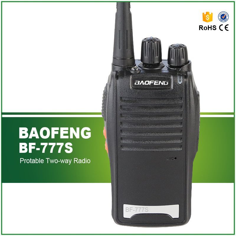 Free Shipping  UHF 5W 400-470MHZ Cheap Mini Walkie Talkie Baofeng BF-777s
