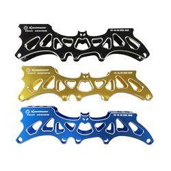 Batman 3rd Inline Skate Rentang 4*80 Mm atau 3*110 Mm Roda Adjustable 231 Mm 243 Mm skating Dasar Selektif Sepatu Roda Basin