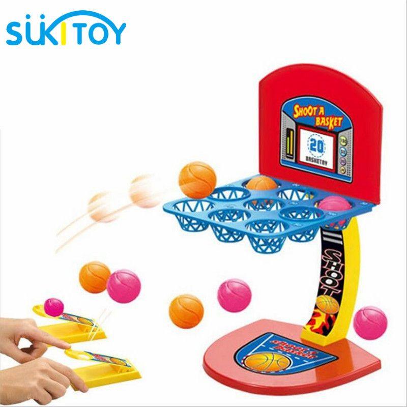 Partie jeu jouets pour enfants jeu de société Mini basket tir Oyuncak jeu de bureau pour famille maison fête fournitures jouets 53