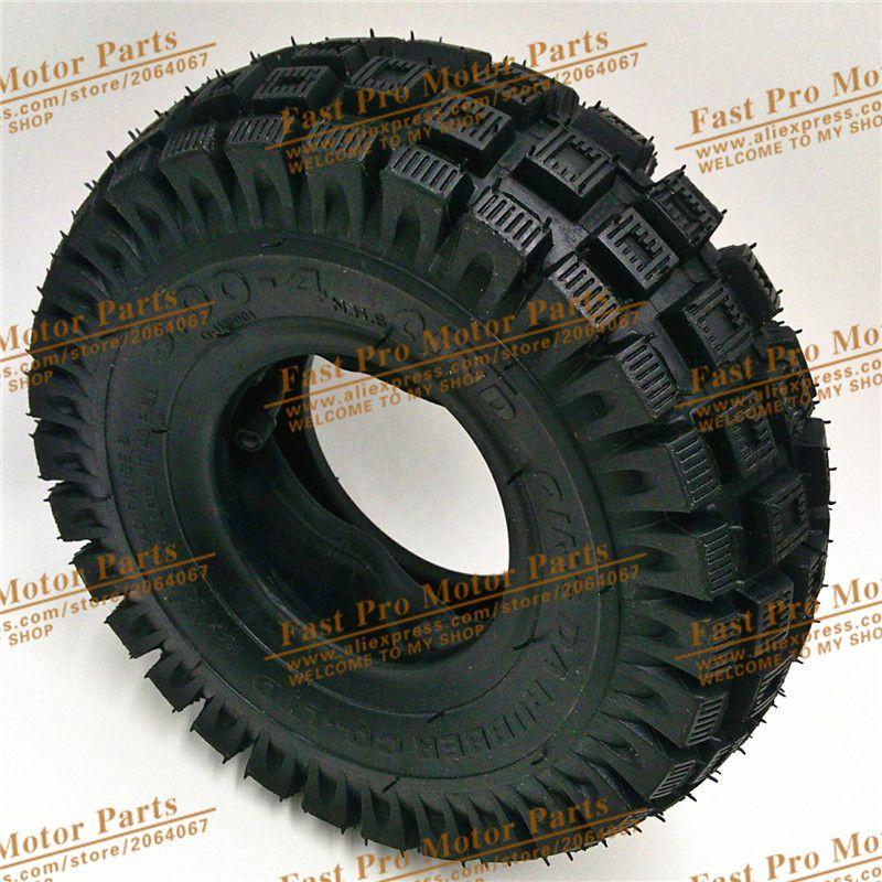 Tyre 3.00 - 4 Mini ATV Quad tyre electric scooter tyre tape inner tube