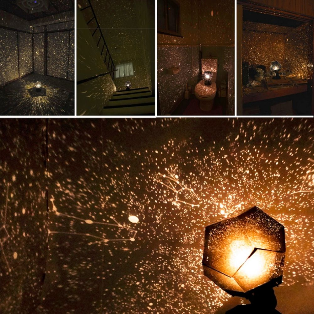 Celestial Star Astro Sky Projection Cosmos Lights Projector Night Lamp Starry Romantic Decoration Lighting Gadget Hot Sale 2017