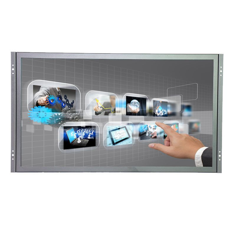 10 points touch capacitive touch screen monitor 21.5 inch 1920*1080 VGA HDMI USB multi touch screen monitor