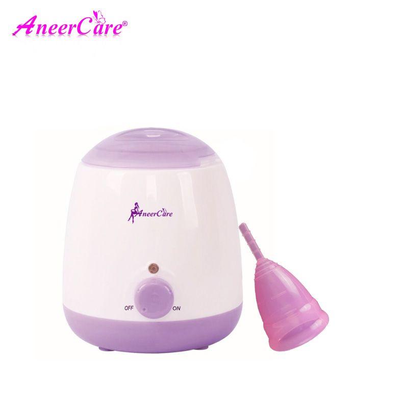 Coupe menstruelle Stérilisateur Menstruation Tasse Dédié stérilisateur de Qualité Médicale Silicone Hygiène féminine Coupé Menstruelle