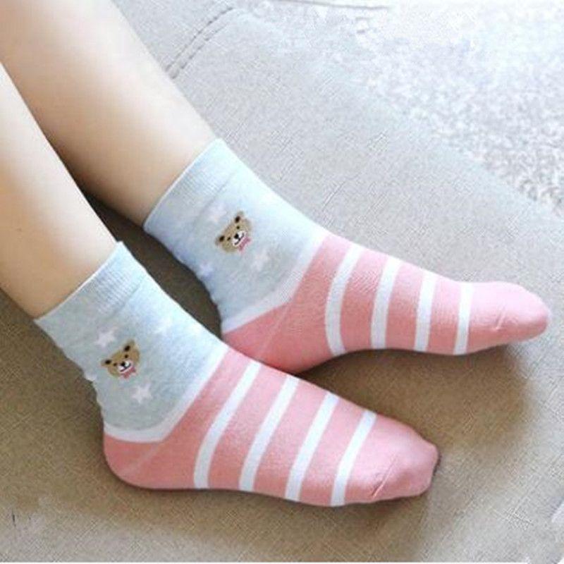 2017 Для женщин зимние носки животных хлопок среднего Носки модные Носки 30 пар