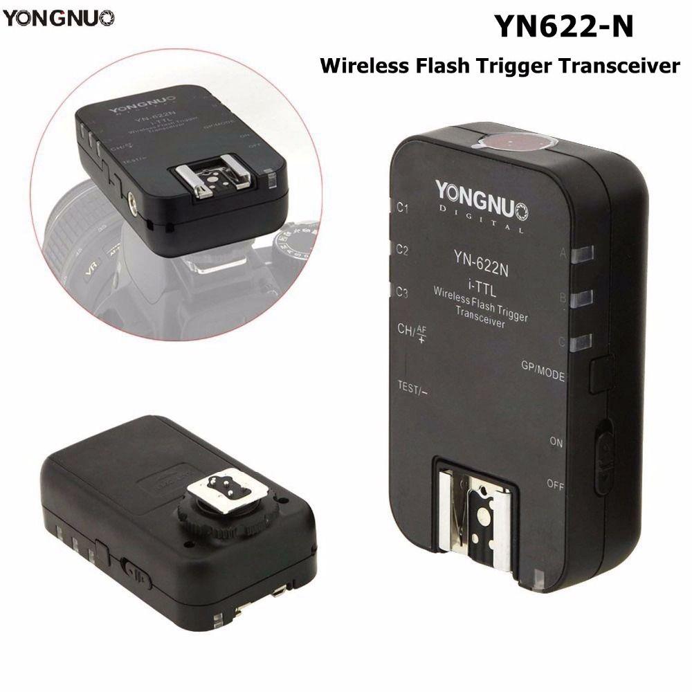 Yongnuo YN-622N Single i-TTL Wireless Flash Trigger Transceiver For Nikon D70 D70S D80 D90 D200 D300 D300S D600