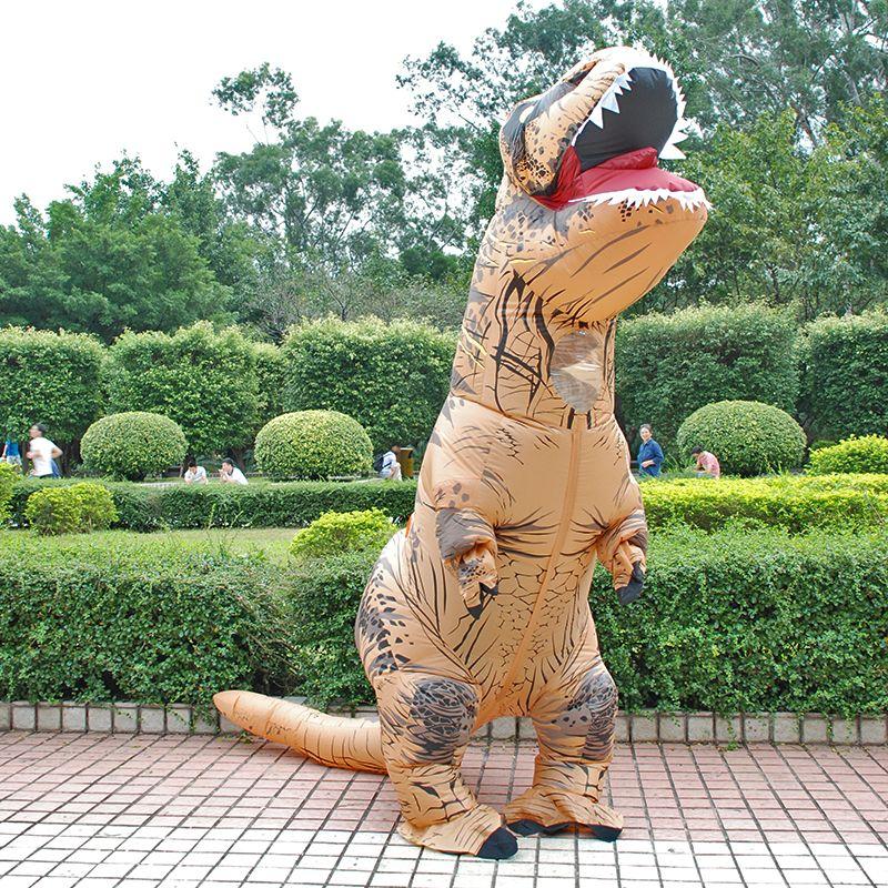 Costume gonflable adulte enfants dinosaure T REX Costumes exploser déguisements mascotte Cosplay Costume pour hommes femmes Dino Cartoon