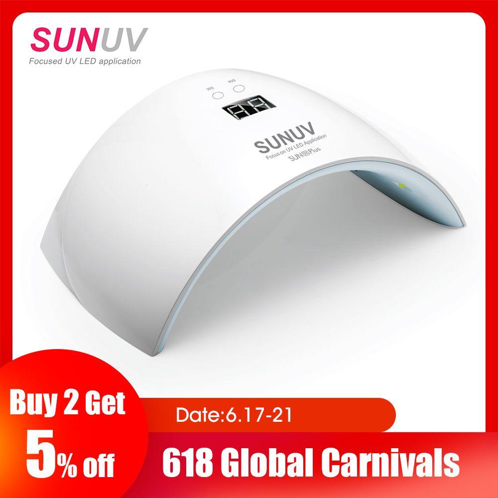 SUNUV SUN9x Plus 36 W lampe à ongles lampe UV sèche-ongles pour Gel UV LED Gel Machine à ongles capteur infrarouge minuterie ensemble