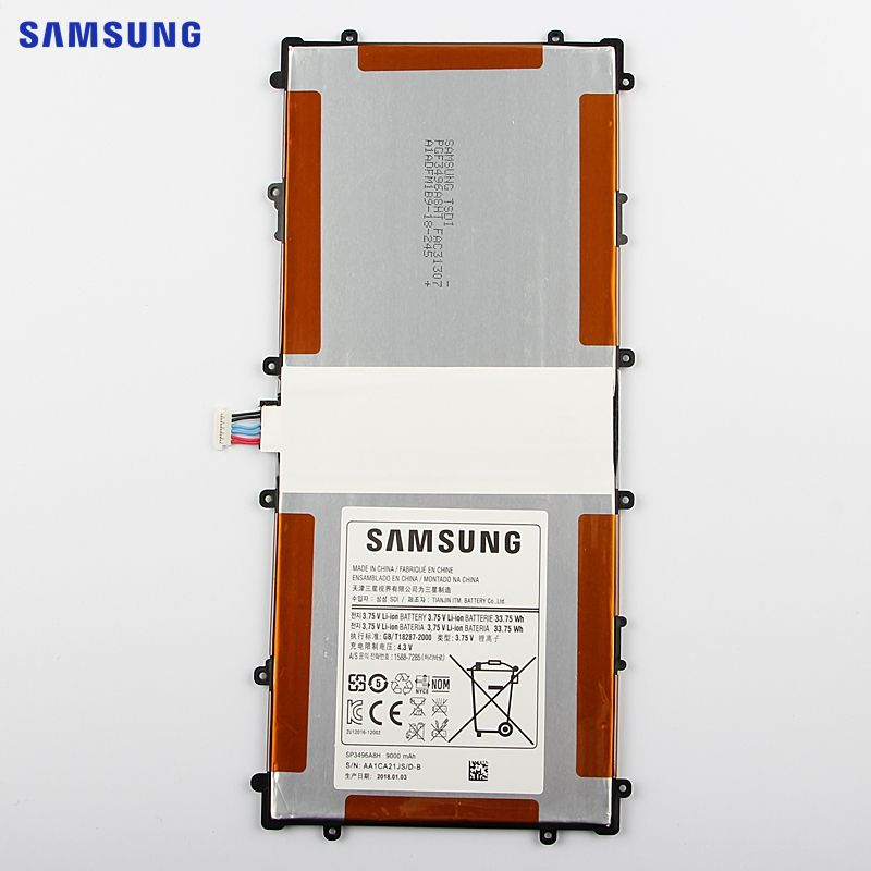 SAMSUNG Original Replacement Battery SP3496A8H For Samsung Google Nexus 10 GT-P8110 HA32ARB Authentic Tablet Battery 9000mAh