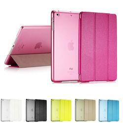 Роскошные ультра тонкий магнитные смарт стойки сальто PU кожаный чехол для Apple iPad Mini 1 2 сетчатки дисплей проснуться / функция сна