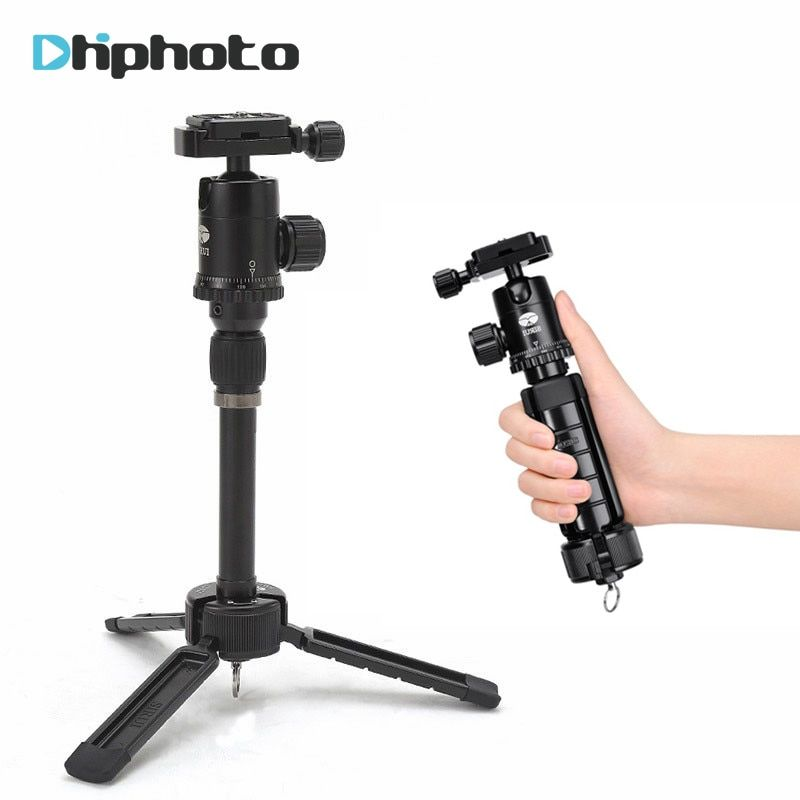 Ulanzi 3T-35 Table Top Tripod with Ball Head Case Youtube vlogging Travel Portable Compact Selfie Video Camera DSLR Tripod