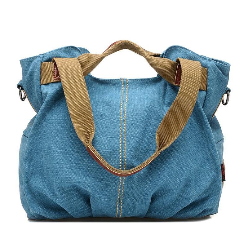 Hot Designer Women Handbags High Quality Women Famous Brand Shoulder Bag Ladies Canvas Tote Bag Las Mujeres Bolsos De Hombro