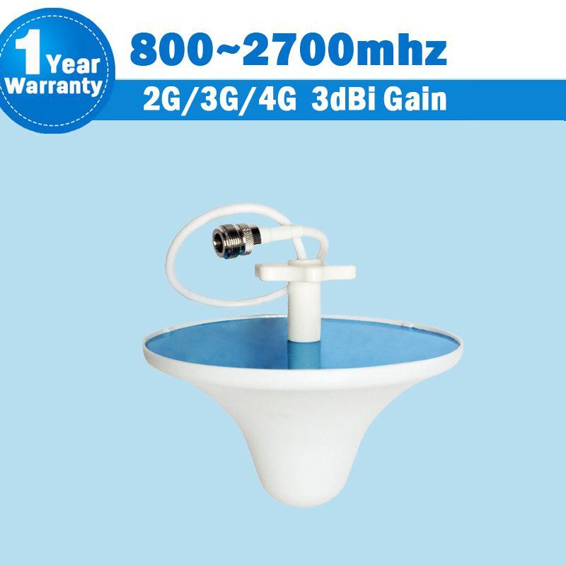2G 3G 4G CDMA 850 GSM 900 1800 2100 LTE 2600 3dBi 800/ 2700MHz Indoor Ceiling Antenna Internal Antenna Mobile Siganl Booster S36