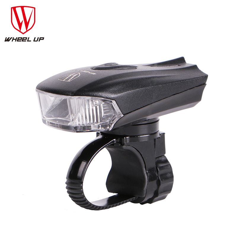 <font><b>WHEEL</b></font> UP 2017 LED USB Rechargeable Bike Light Front Bicycle Head-lights Waterproof MTB Road Cycling Flash-light Touch Night Safe