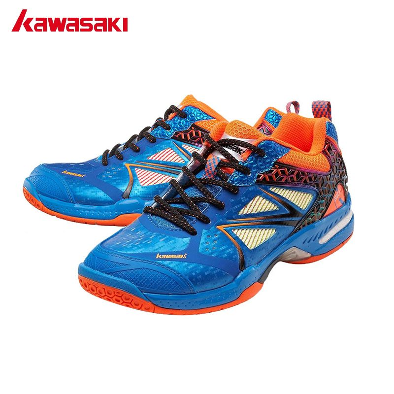 Echtes Kawasaki Marke Badminton Schuhe Professionelle Indoor Sport Schuhe verschleißfesten Anti Torsion Badminton Turnschuhe K-616