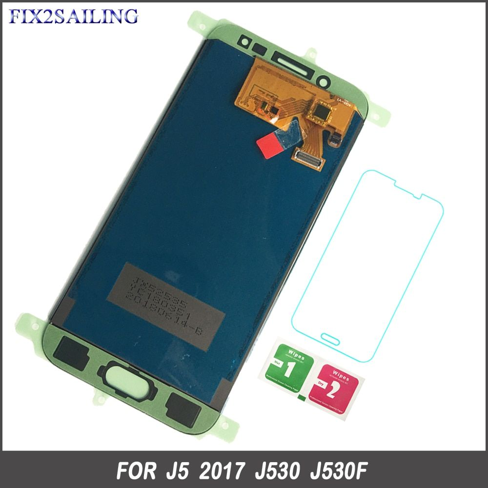 FIX2SAILING LCD For Samsung J530 LCD Touch Screen Digitizer Assembly For Samsung Galaxy J5 Pro 2017 J530 J530F J530FM Adjustable