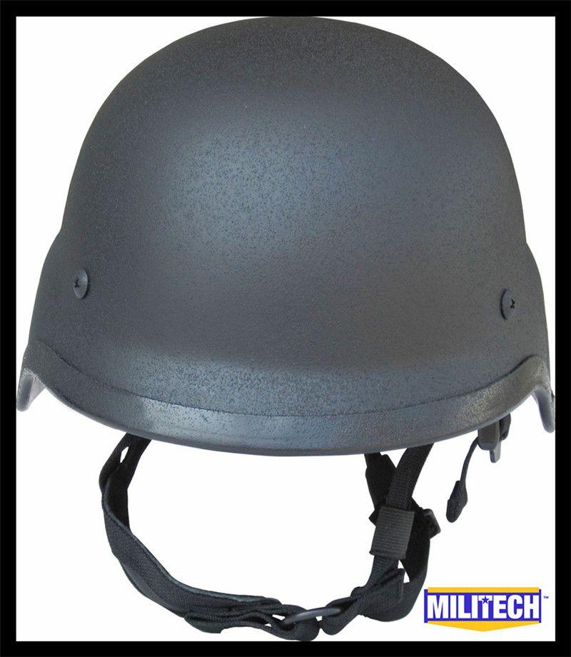 Militech NIJ IIIA 3A черный M88 Сталь пуленепробиваемые шлем Сталь баллистических PASGT шлем Сталь пуленепробиваемый шлем с Тесты отчет