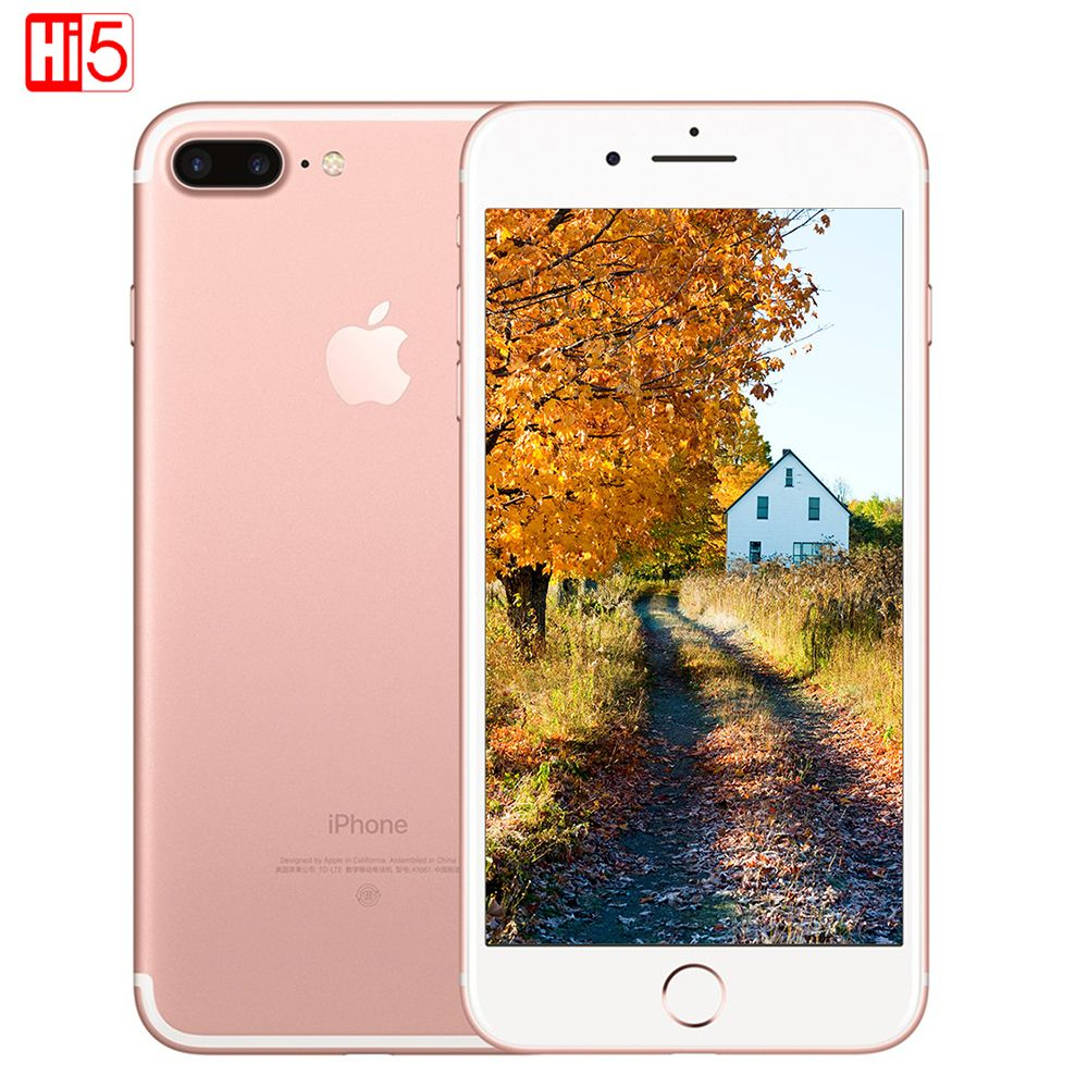 Unlocked Apple iPhone 7 Plus 3GB RAM 32/128GB/256GB ROM Quad-Core Fingerprint 12MP IOS LTE 12.0MP Camera Mobile phone smartphone