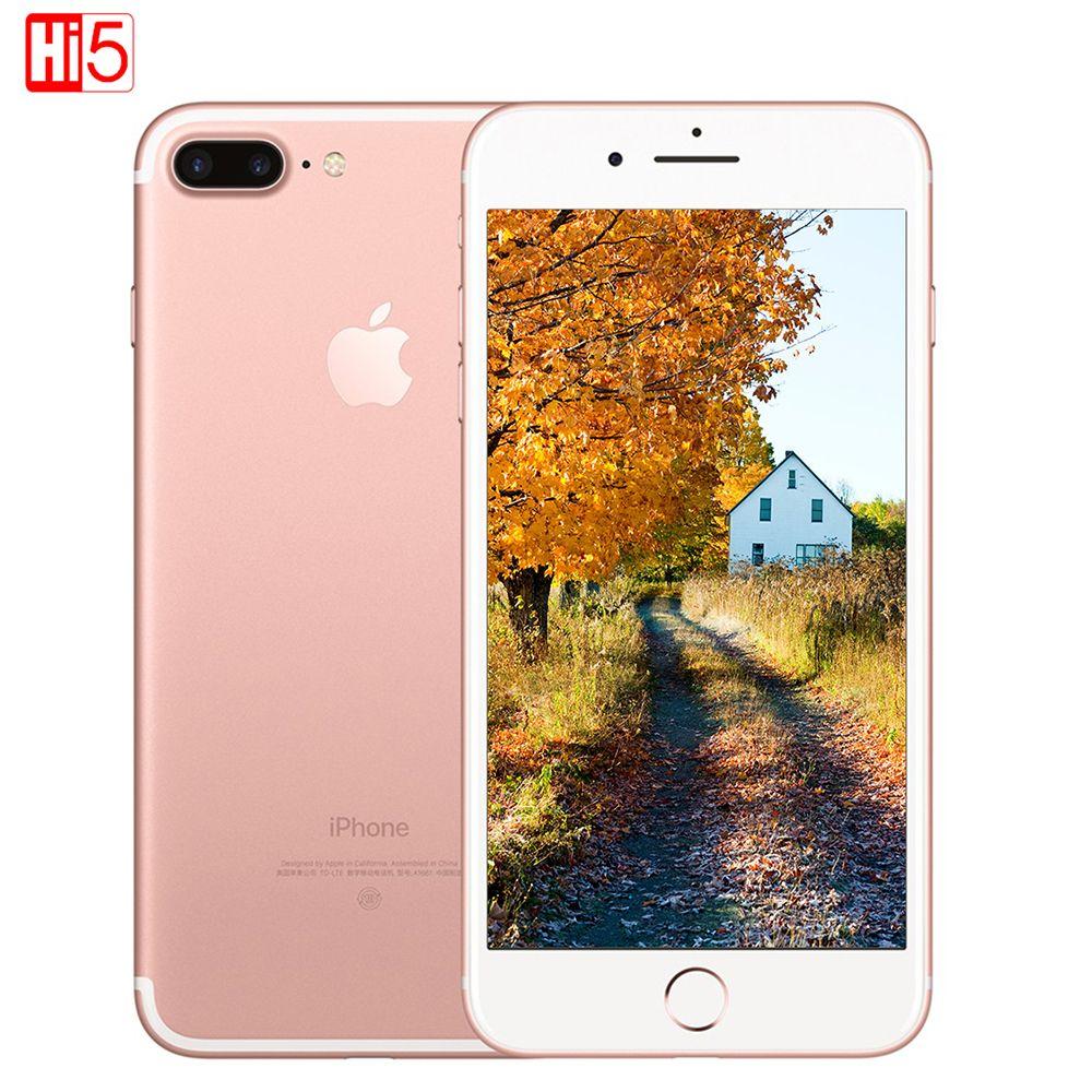 Unlocked Apple iPhone 7 Plus 3GB RAM 32/128GB/256GB ROM Quad-Core Fingerprint 12MP IOS LTE 12.0MP Camera Mobile phone smartphone