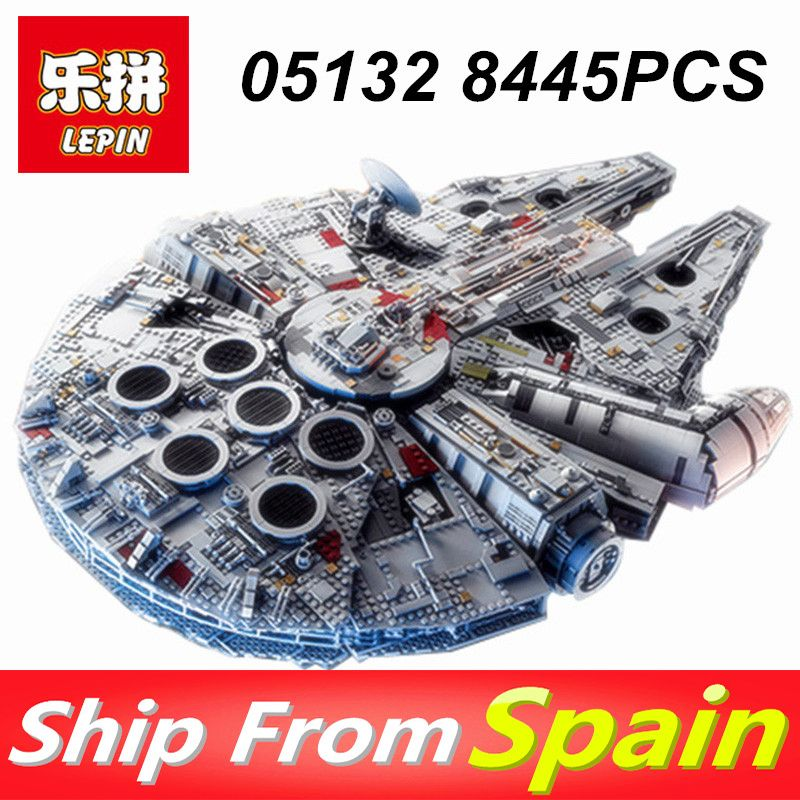 Lepin 05132 8445PCS Star Wars Ultimate Collector's Model Destroyer Compatible LegoINGlys 75192 Building Blocks toys for boys